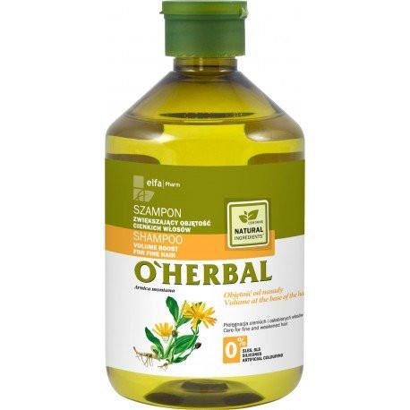 O'Herbal Tuuheuttava volyymishampoo hennoille hiuksille 500ml