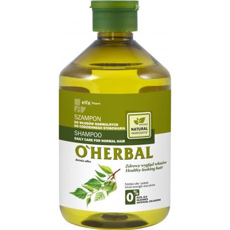 O'Herbal Shampoo normaaleille hiuksille 500ml