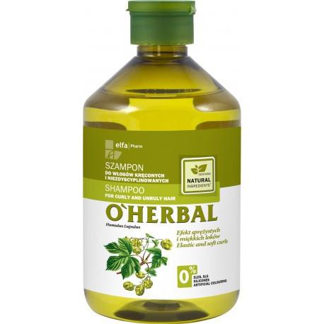 O'Herbal Shampoo kiharille ja karheille hiuksille 500ml