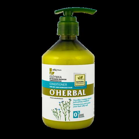O' Herbal Hoitoaine kuiville, vaurioituneille hiuksille 500ml