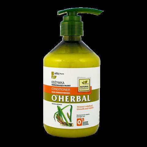 O'Herbal Vahvistava hoitoaine hauraille hiuksille 500ml
