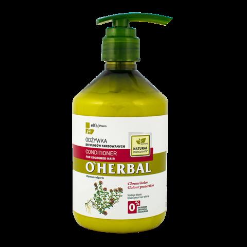 O'Herbal Hoitoaine värjätyille hiuksille 500ml