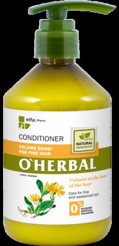 O'Herbal Tuuheuttava hoitoaine hennoille hiuksille 500ml
