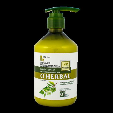 O'Herbal Hoitoaine normaaleille hiuksille 500ml
