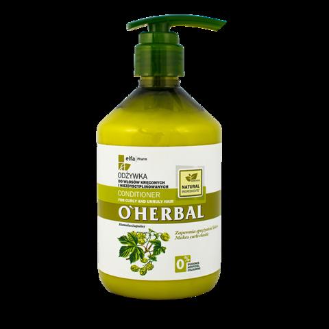 O'Herbal Hoitoaine kiharille ja karheille hiuksille 500ml