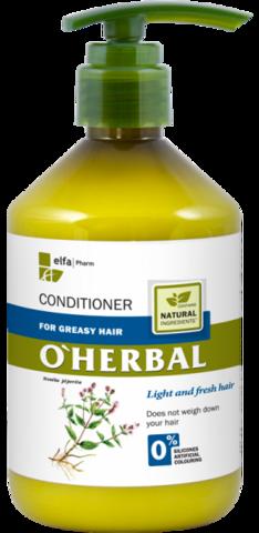 O'Herbal Hoitoaine rasvoittuville hiuksille 500ml