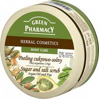 Green Pharmacy - Sugar and Salt vartalonkuorinta - Arganöljy & viikuna 300ml