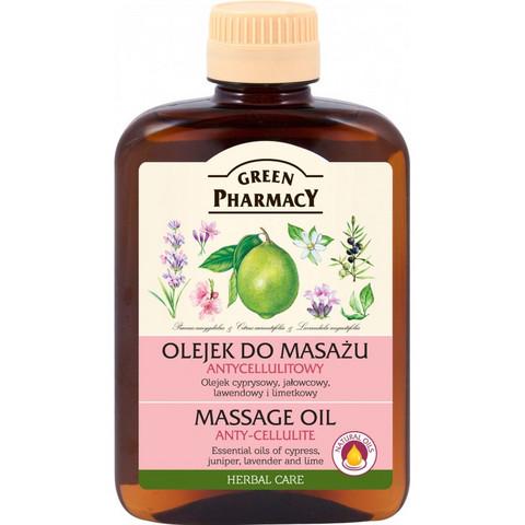 Green Pharmacy - Hierontaöljy selluliittia vastaan 200ml