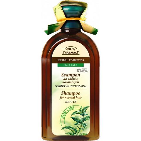 Green Pharmacy Nokkosshampoo normaaleille hiuksille 350ml