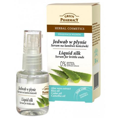 Green Pharmacy Silottava silkkiseerumi kaksihaaraisille latvoille 30ml