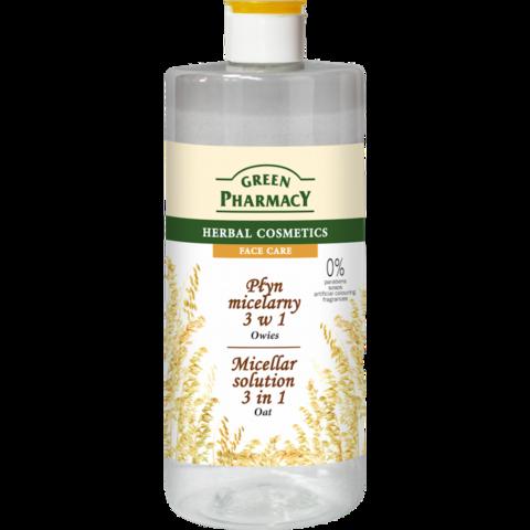 Green Pharmacy 3in1 Kaura-misellivesi 500ml
