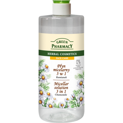 Green Pharmacy 3in1 Kamomilla-misellivesi 500ml