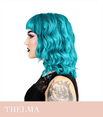 Herman's Amazing Thelma Turquoise hiusväri