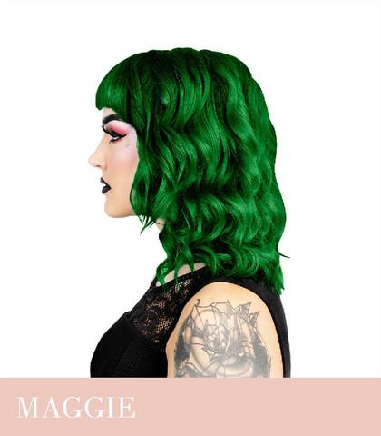 Herman's Amazing Maggie Dark Green hiusväri