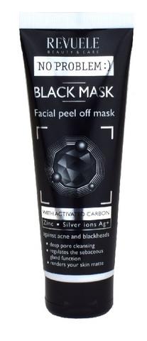 Revuele No Problem Black Mask peel off kasvonaamio 80ml