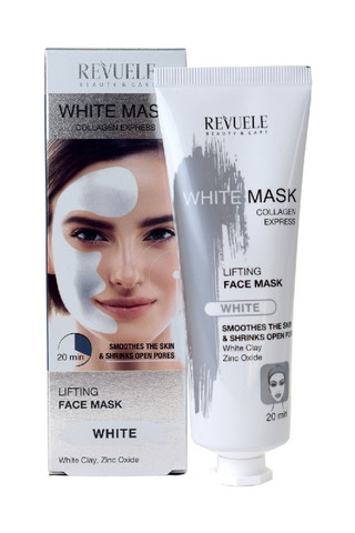 Revuele White Mask Liftaava, tasoittava kollageeninaamio 80ml