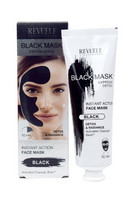 Revuele Black Mask - Instant Action Face Mask 80ml