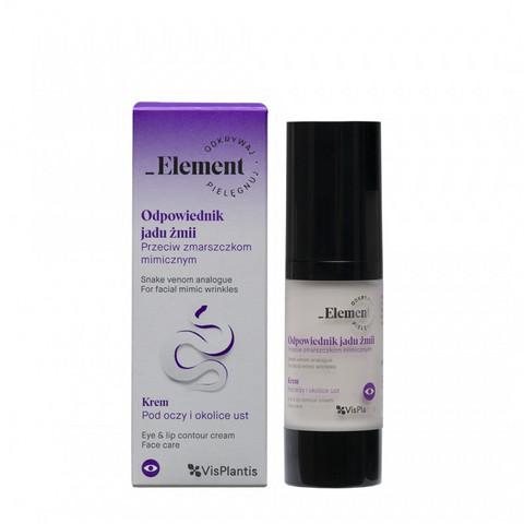 Element Snake Venom Eye & Lip Contour Cream Silmänympärysvoide 30 ml