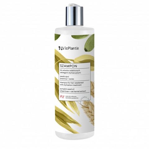 Vis Plantis Shampoo käsitellyille & vaurioituneille hiuksille 400ml