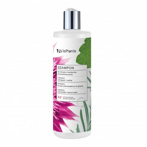 Vis Plantis Shampoo rasvoittuville hiuksille 400ml
