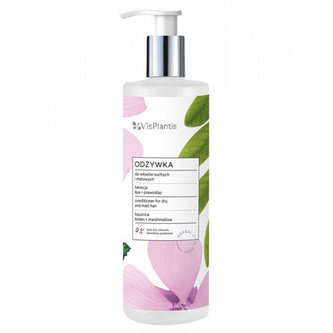 Vis Plantis Shampoo kuiville & kiillottomille hiuksille 400ml