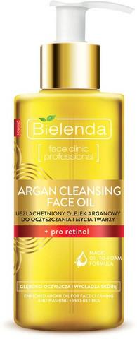 Bielenda Argan Kasvojen puhdistusöljy+pro retinol 140ml