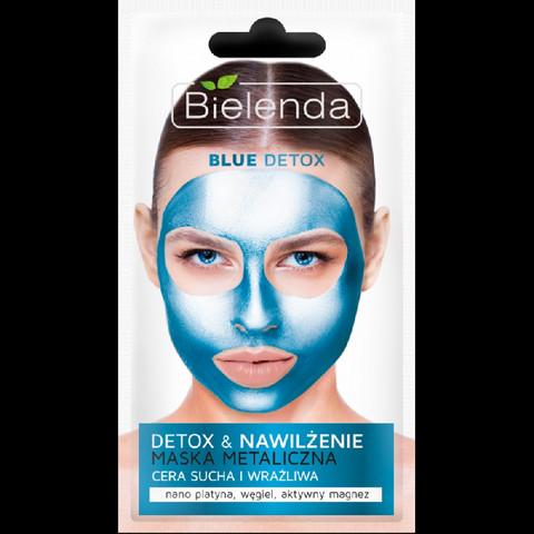 Bielenda BLUE DETOX naamio kuivalle ja herkälle iholle 8g
