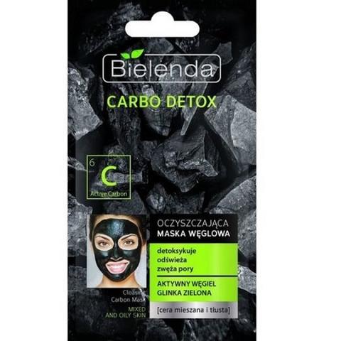Bielenda CARBO DETOX naamio rasvaiselle- ja sekaiholle 8g