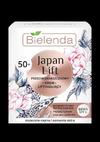 Bielenda JAPAN LIFT kiinteyttävä anti-wrinkle päivävoide 50+ SPF 6 50ml