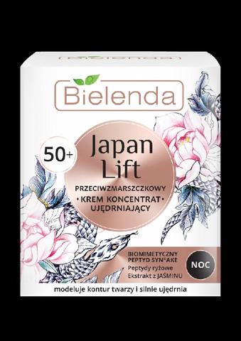 Bielenda JAPAN LIFT kiinteyttävä anti-wrinkle yövoide 50+ 50ml