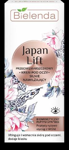 Bielenda JAPAN LIFT tehokosteuttava anti-wrinkle silmänympärysvoide 15ml