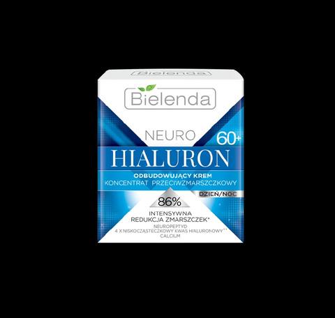 Bielenda NEURO HIALURON uudistava anti-wrinkle päivä/yövoide 60+ 50ml