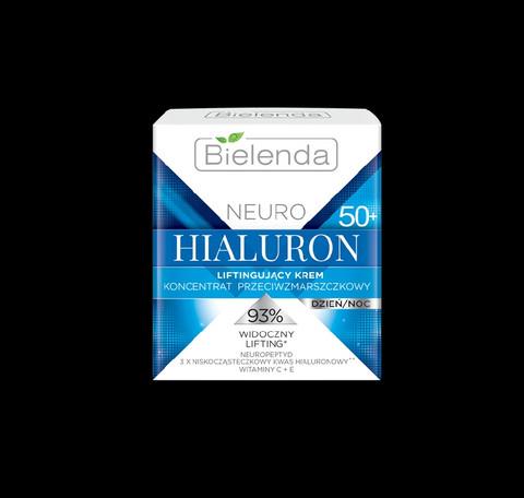 Bielenda NEURO HIALURON liftaava anti-wrinkle päivä/yövoide 50+ 50ml