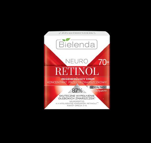 Bielenda NEURO RETINOL korjaava anti-wrinkle päivä/yövoide 70+ 50ml