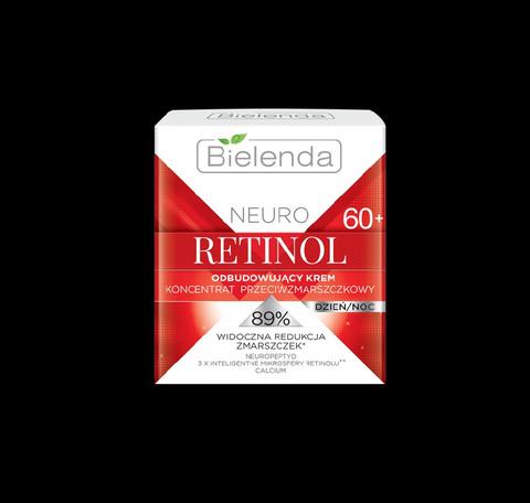 Bielenda NEURO RETINOL jälleenrakentava anti-wrinkle päivä/yövoide 60+ 50ml