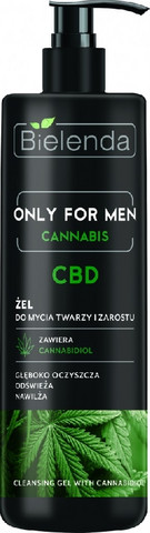 Bielenda Only for men CBD Cannabidiol puhdistusgeeli miehille 200ml