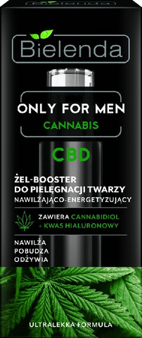 Bielenda Only for men CBD Cannabidiol kasvoseerumi miehille 30ml