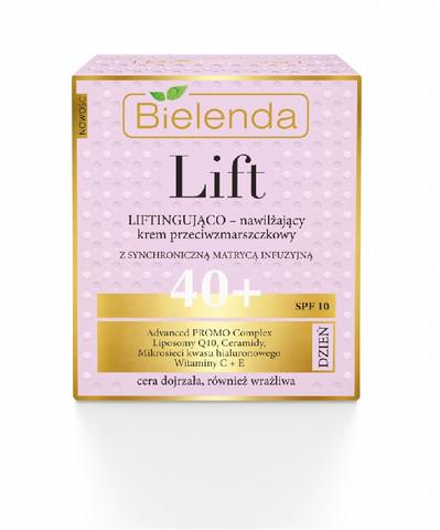 Bielenda LIFT kosteuttava & liftaava päivävoide 40+ SPF10 50ml