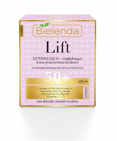 Bielenda LIFT siloittava & liftaava anti-wrinkle päivävoide 50+ SPF10 50ml