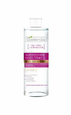 Bielenda Skin Clinic professional uudistava hyaluronihappo + maitohappo kasvovesi 200ml