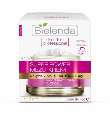 Bielenda Skin Clinic Professional uudistava päivä/yövoide, Q10 + E-vitamiini 50ml