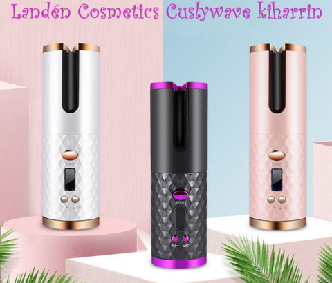 Landén Cosmetics Curlywave kiharrin