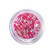 Ultra-sparkling nail glitters for UV pink