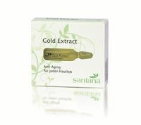 Santana Hoitava Kultauute (Gold Extract) -ampulli 3 x 3 ml