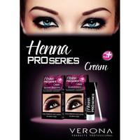 Verona Henna kulmakarvojen värjäykseen-musta 15ml