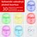 LED-Valohoitomaski hoitola- ja kotikäyttöön + lahjaksi 5 Dermalin Premium naamiota