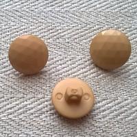 Beige kantanappi, koristeellinen, 13 mm