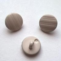Beige kantanappi, 12 mm