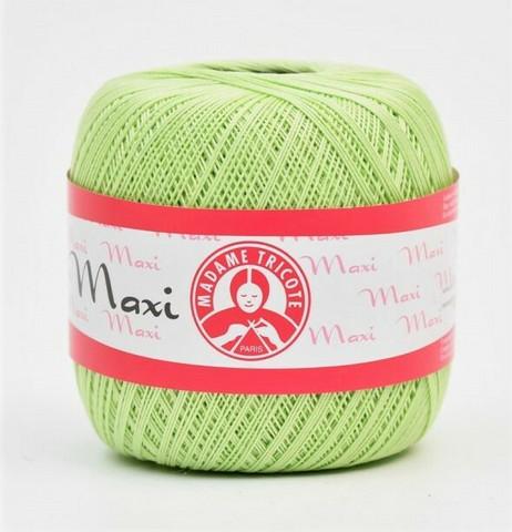 Maxi virkkauslanka, värit vihreä ja sininen