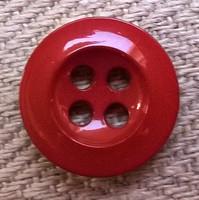 Punaruskea perusnappi, 15 mm